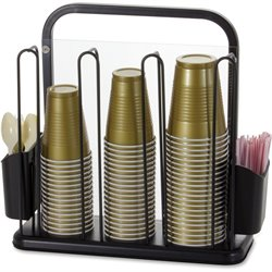 Officemate BreakCentral Cup/Cutlery Organizer