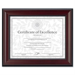 Burns Grp. Rosewood Document Frame