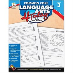 Carson Grade 3 Common Core Language Arts Workbook