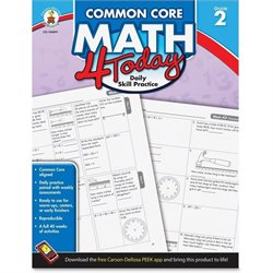 Carson Grade 2 Common Core Math 4 Today Workbook