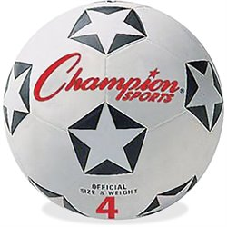 Champion Sports Size 4 Soccer Ball
