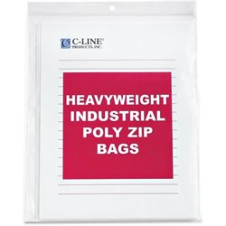 C-Line Letter-size Heavyweight Poly Zip Bags