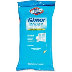 Clorox 3-in-1 Radiant Clean Glass Wipes