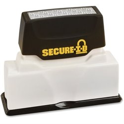 Cosco Black Ink Secure ID Stamp