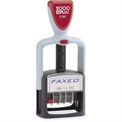 Cosco 2-color Self-inking Word Dater