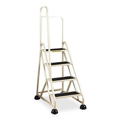 Cramer Aluminum Left Handrail Stop-Step Ladder
