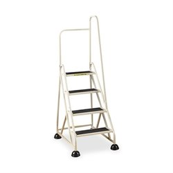 Cramer 4-Step Aluminum Right Handrail Step Ladder