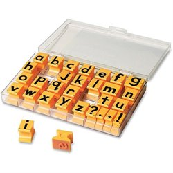 Eductnl Insights Lowercase Alphabet Stamps (Set of 30)