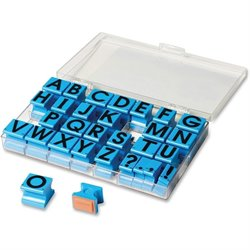 Eductnl Insights Uppercase Alphabet Stamps (Set of 30)
