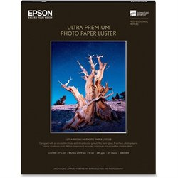 Epson Ultra Premium Luster Surface Photo Paper