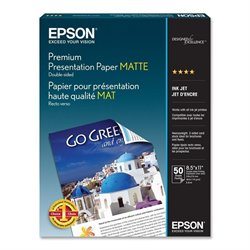 Epson Premium Double-sided Matte Paper (Set of 50)