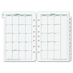Franklin Original Planning Sys Mthly Refill Tabs
