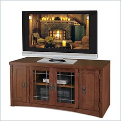 Kathy Ireland Home by Martin Mission Pasadena Wood Plasma TV Stand in Mission Finish