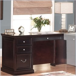 Kathy Ireland by Martin Furniture Fulton 65 Inch Executive Desk