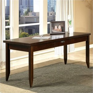 Kathy Ireland Home by Martin Furniture Tribeca Loft Cherry Writing Desk