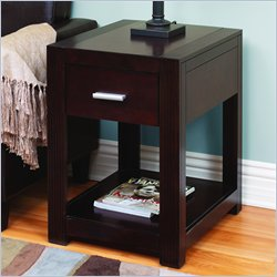 Martin Furniture Carlton Space Saver Table in Bourbon