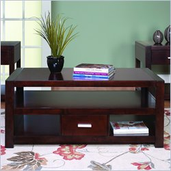 Martin Furniture Carlton Coffee Table in Bourbon