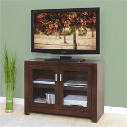 Kathy Ireland Home by Martin Carlton TV Stand in Bourbon