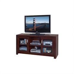 Kathy Ireland Home by Martin Carlton  Full Sized TV Stand in Bourbon