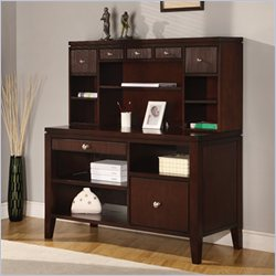 Martin Furniture Grove Internet Credenza with Hutch