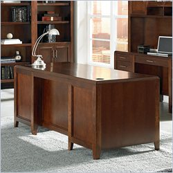 Kathy Ireland Home by Martin Concord Double Pedestal Executive Desk