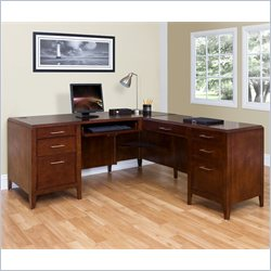 Kathy Ireland Home by Martin Concord RHF L-Shaped Desk