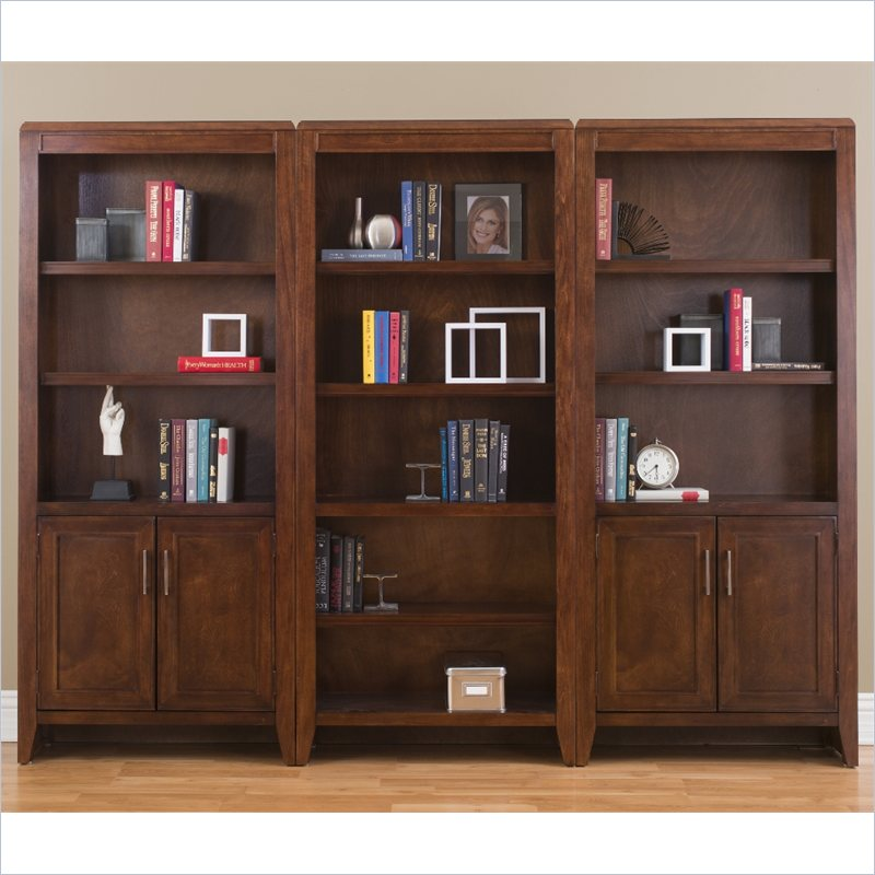 Kathy Ireland Home by Martin Concord 3 Piece Wall Bookcase