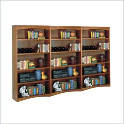 Kathy Ireland Home by Martin California Bungalow Open Bookcase Set