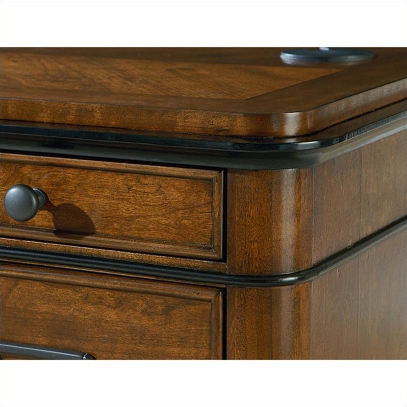 Kathy Ireland Home by Martin Kensington 2 Drawer Lateral File in Warm Fruitwood
