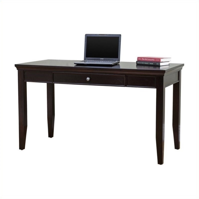 martin furniture fulton office 48 quot writing desk in rich