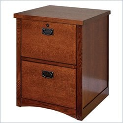 Martin Furniture Mission Pasadena 2 Drawer File Cabinet