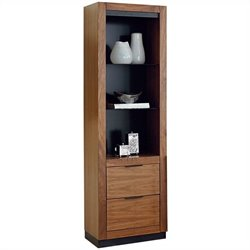 Martin Furniture Stratus Pier with Drawers in Walnut