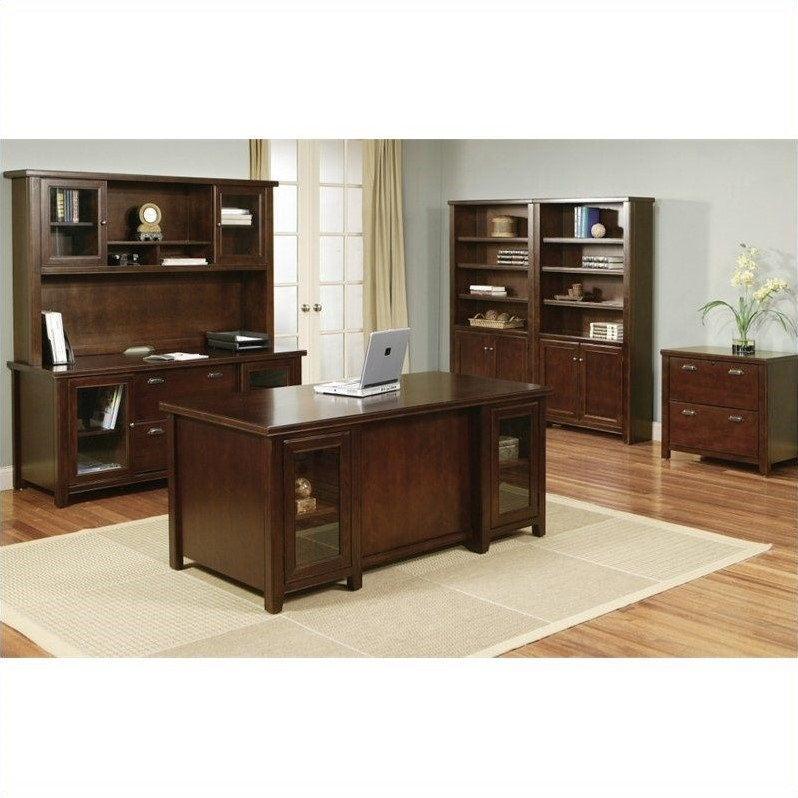 Martin Furniture Tribeca Loft Executive Office Set In