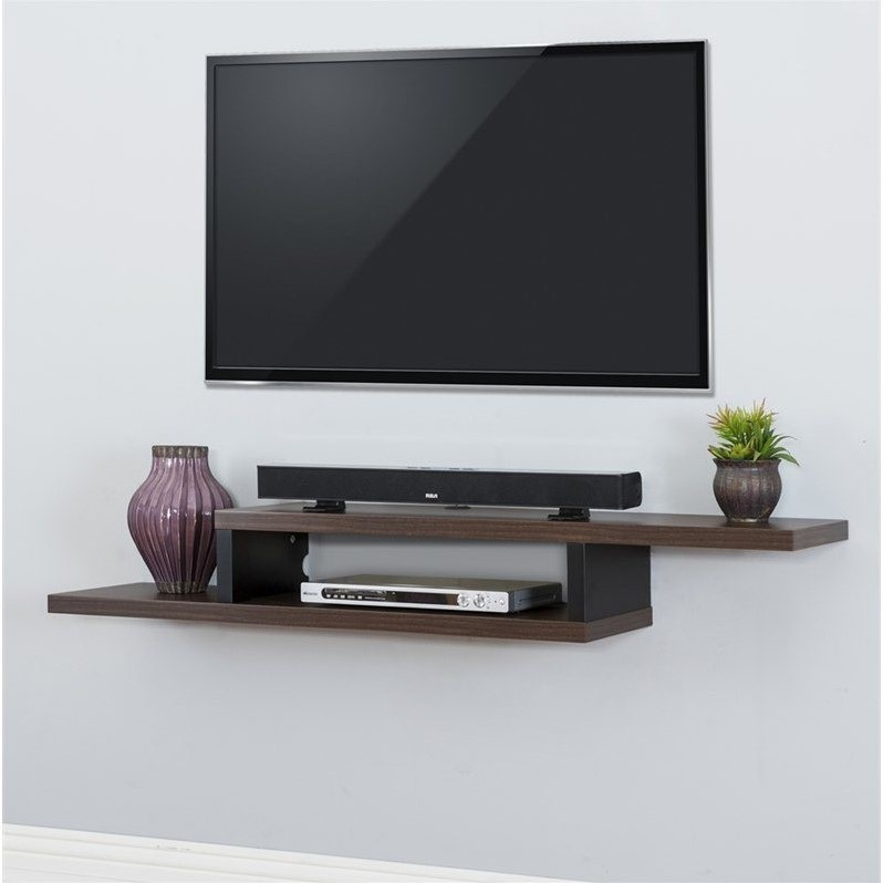 Martin furniture 60 ascend floating tv stand in columbian - Dresser as tv stand in living room ...