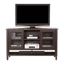 Martin Furniture Navarro Deluxe TV Console in Clove and Auburn