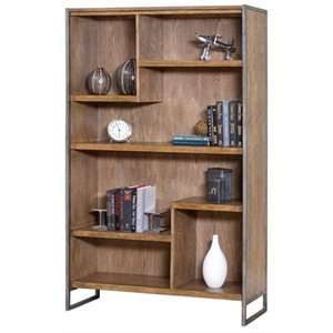 Martin Furniture Belmont Bookcase in Bushed Ash