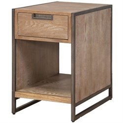 Martin Furniture Belmont Space Saver Table in Bushed Ash