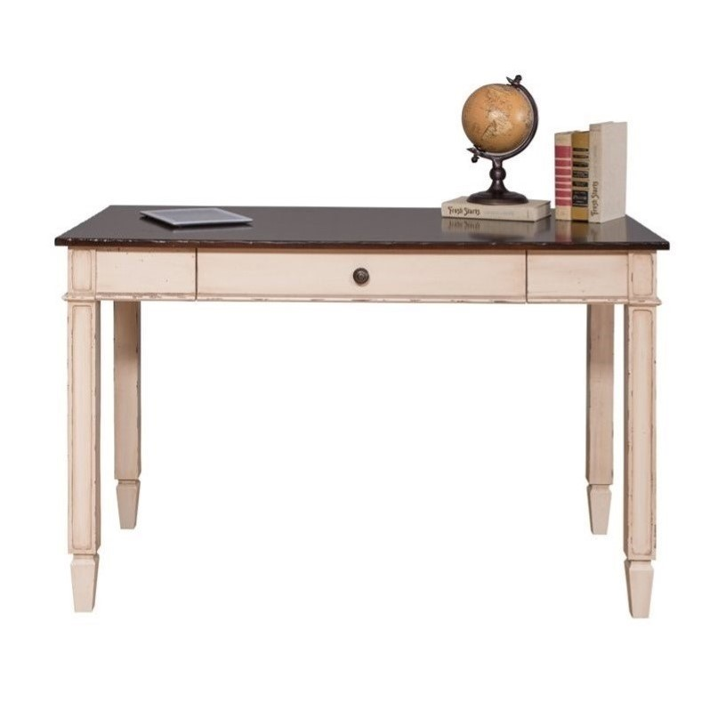 Captivating Martin Furniture Eclectic Baldwin Computer Desk In Antique White