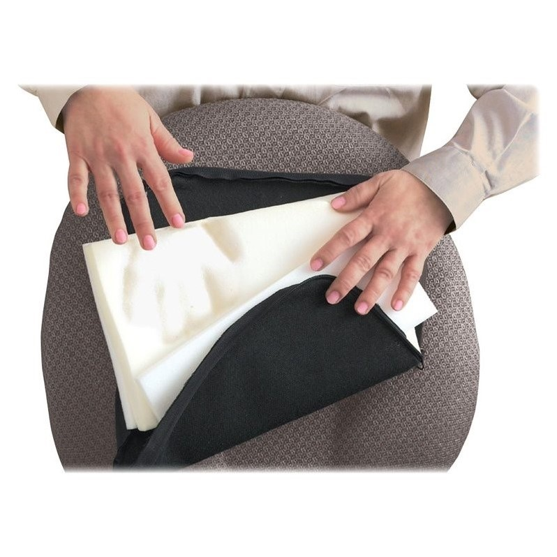 Master Caster Memory Foam Lumbar Support Cushion