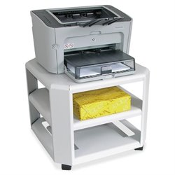 Master Products 2-Shelf Mobile Printer Stand