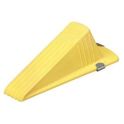 Master Caster Yellow Giant Magnetic Doorstop