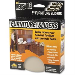 Master Caster Mighty Movers Furniture Sliders