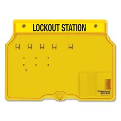 Master Lock Unfilled Padlock Lockout Station w/Cvr