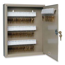 MMF Industries Steel 80-key Cabinet