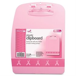 Officemate Breast Cancer Awrnss Designer Clipboard