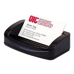 Officemate 2200 Series Business Card/Clip Holder