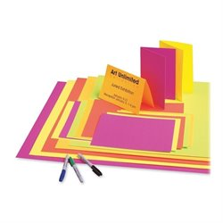 Pacon Fade Resistant Neon Poster Board