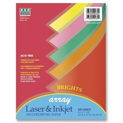 Pacon Array Brights Colored Bond Paper (500 Sheets)
