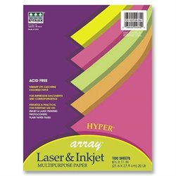 Pacon Array Acid-free Hyper Colored Bond Paper (500 Sheets)