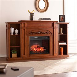 Chantilly Electric Fireplace in Oak
